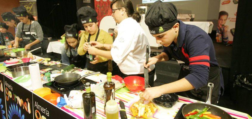 Los pequeños chef están en Almería Gourmet